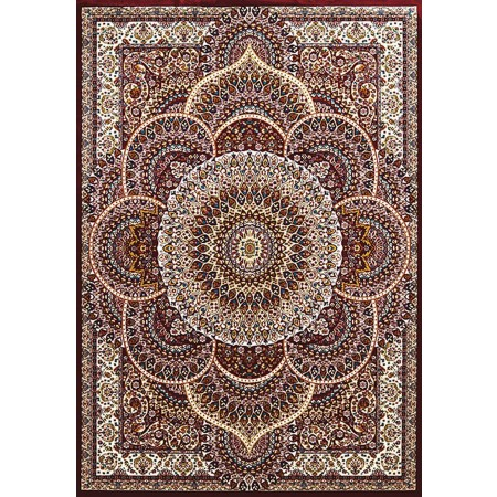 SAROUK RUBY Area Rug - Traditional Style Area Rug