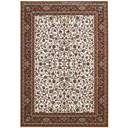 ISPHAHAN IVORY Area Rug - Traditional Style Area Rug