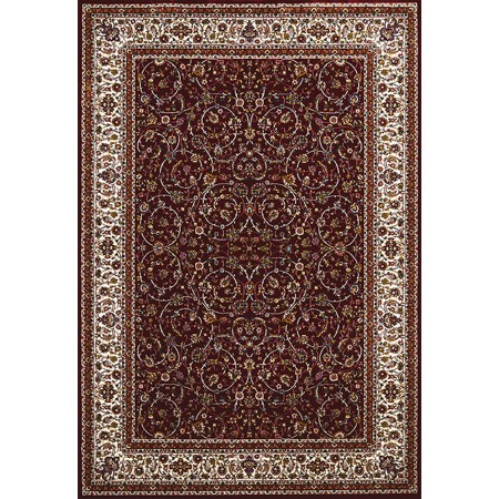 ISPHAHAN RUBY Area Rug - Traditional Style Area Rug