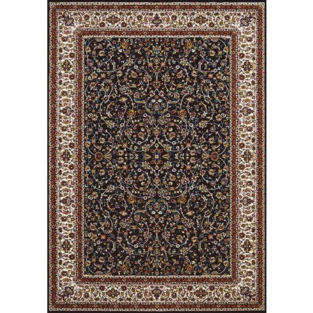 ISPHAHAN NAVY BLUE Area Rug - Traditional Style Area Rug