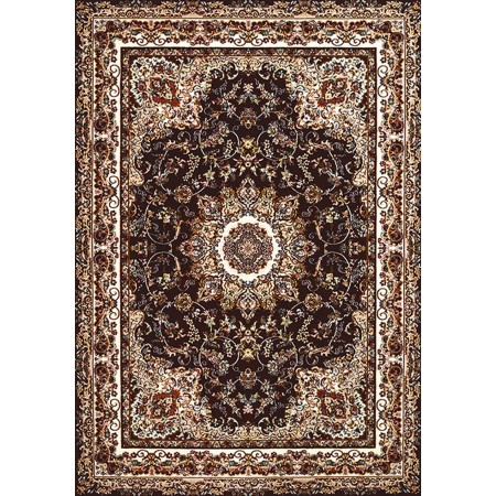 SARABAND BROWN Area Rug - Traditional Style Area Rug