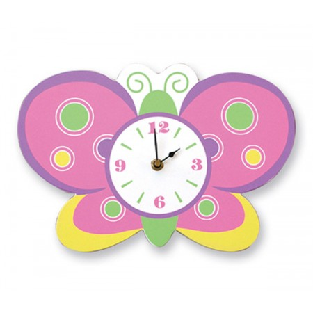 WALL CLOCK - BUTTERFLY