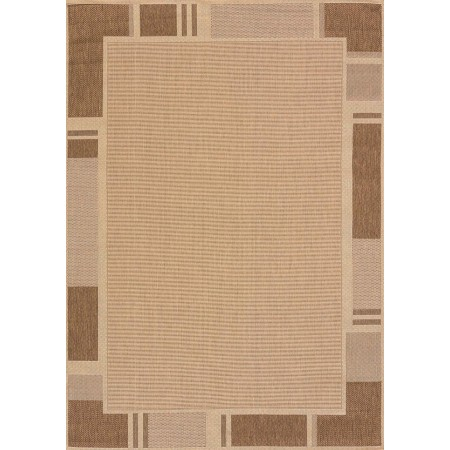 "Terrace Beige Area Rug (94"" X 126"")"