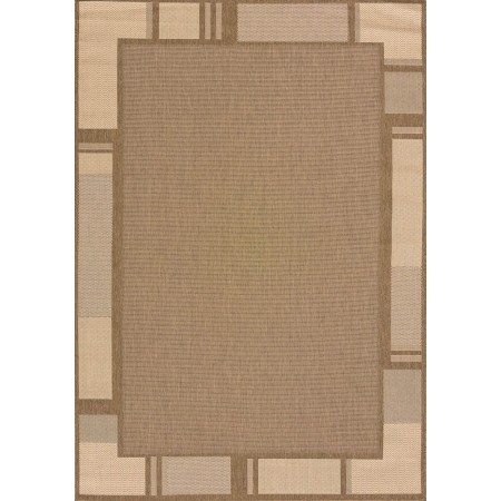 "Terrace Brown Area Rug (94"" X 126"")"