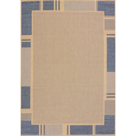 "Terrace Blue Area Rug (94"" X 126"")"