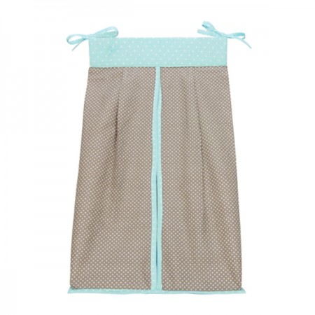 Cocoa Mint - Diaper Stacker