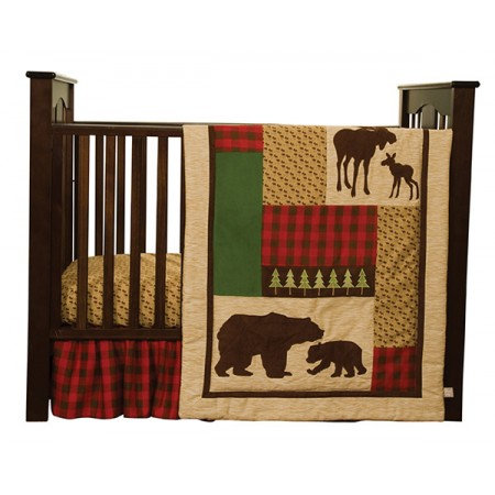 Northwoods - 3 Piece Crib Set
