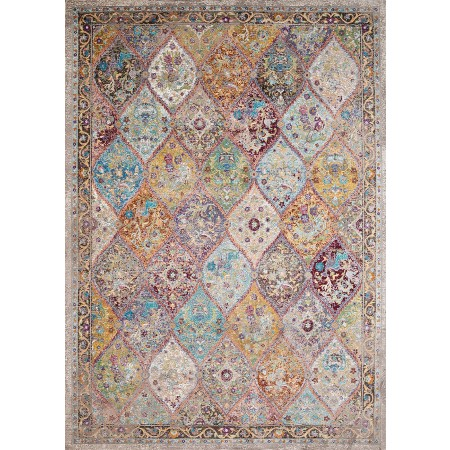 "Rhapsody Nash Court Multi Accent Rug (1'10"" X 3')"