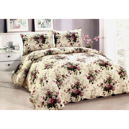 Chinese Rose Quilt - King Size - Closeout