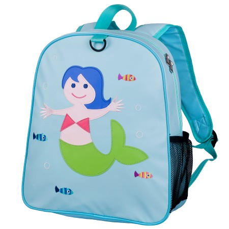 Olive Kids Mermaid Embroidered Backpack