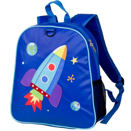 Rocket Embroidered Backpack