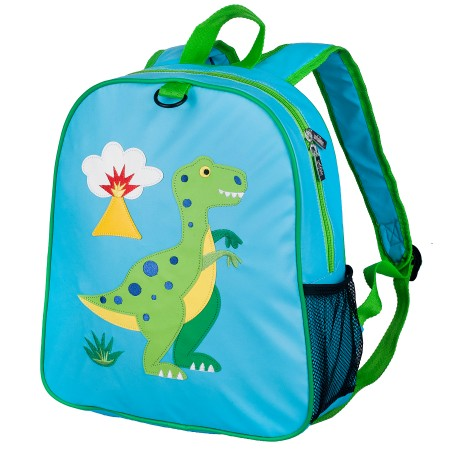 Olive Kids Dinosaur Embroidered Backpack