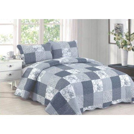 Grayce King Size Quilt Set - Includes 2 Standard Pillow Shams