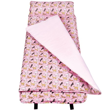 Horses in Pink Original Nap Mats by Olive Kids