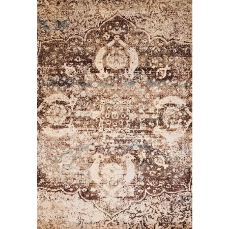 "Imperial Brown Oversize Rug (94"" X 126"")"