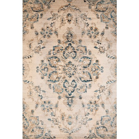 "Jubilee Parchment Oversize Rug (94"" X 126"")"