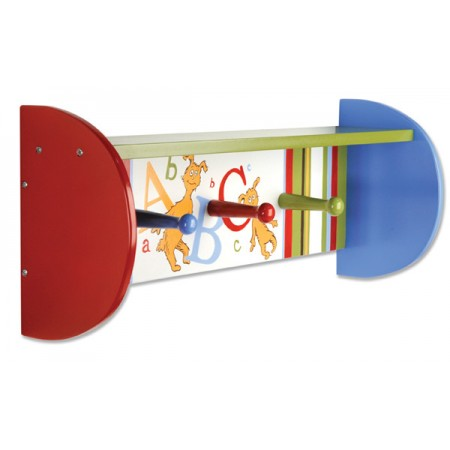 DR. SEUSS ABC - SHELF WITH PEGS