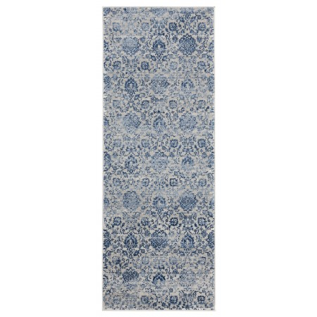 "Clairmont Arish Denim Blue Runner Rug 2'7"" x 7'2"""