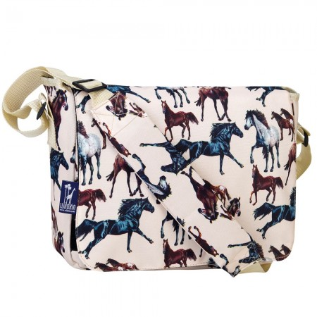 Horse Dreams 13 Inch x 10 Inch Messenger Bag
