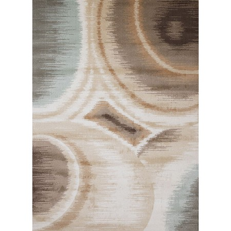 IKAT NATURAL Area Rug - Transistional Style