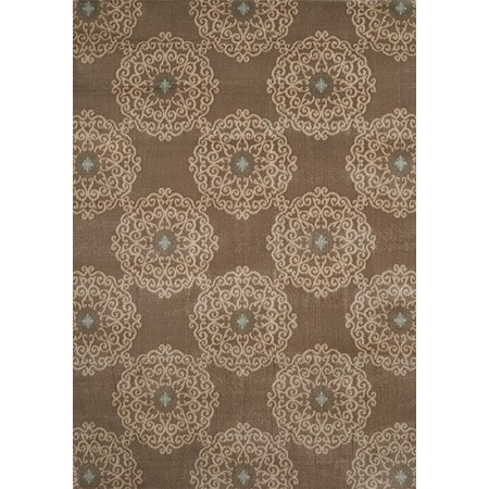 CHAMBORD TAUPE Area Rug - Transistional Style