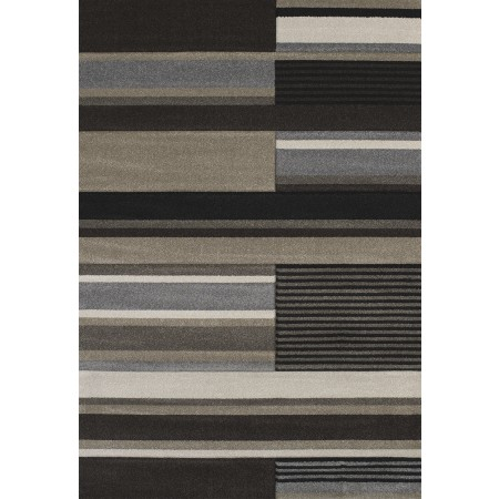 Soundtrack Brown Area Rug - Contemporary Style