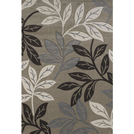 Freestyle Beige Area Rug - Contemporary Style