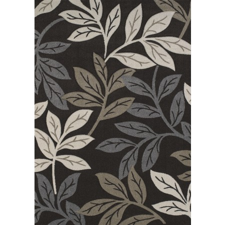 Freestyle Brown Area Rug - Contemporary Style