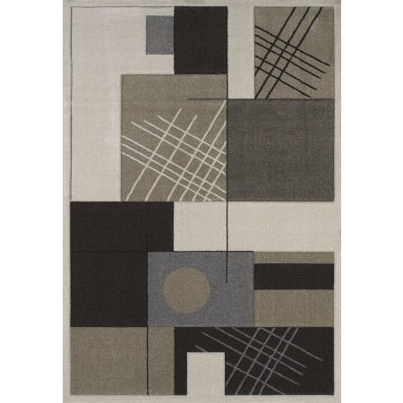 Touche Cream Area Rug - Contemporary Style