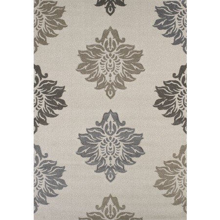 Souffle Cream Area Rug - Contemporary Style