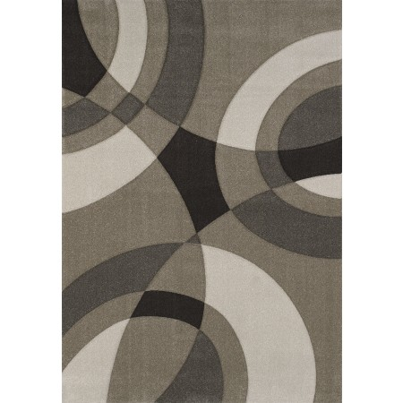 "Smash Beige Oversized Area Rug (94"" X 134"")"