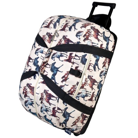 Horse Dreams Rolling Duffel Bag