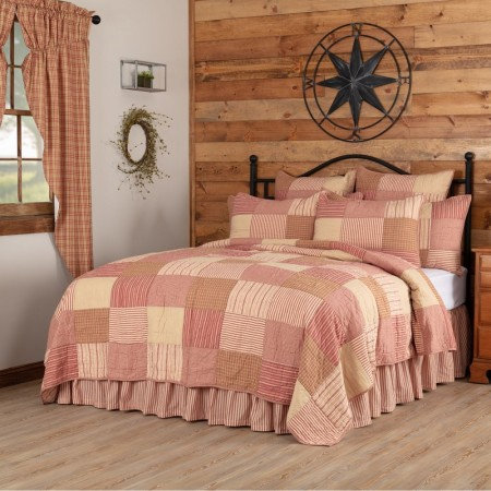 Sawyer Mill Red Quilt - Twin Size