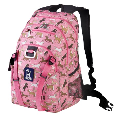 Horses in Pink Serious Backpack
