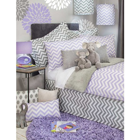 Swizzle Purple Duvet Cover by Sweet Potato