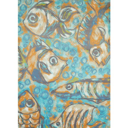 Caymen Reef Aqua Area Rug