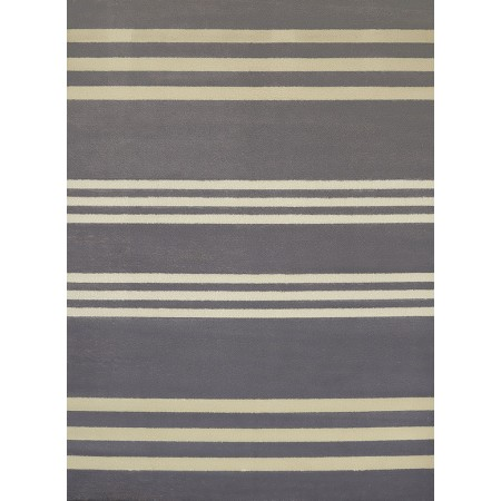 """Trades Charcoal Accent Rug (22"""" X 36"""")"""