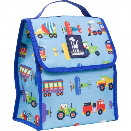 Trains, Planes & Trucks Lunch Bag
