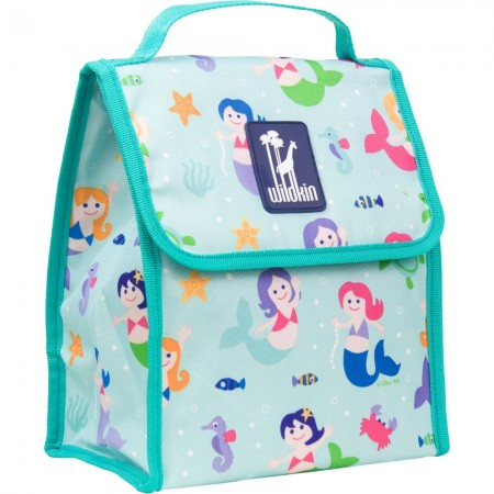 Olive Kids Mermaids Munch 'n Lunch Bag