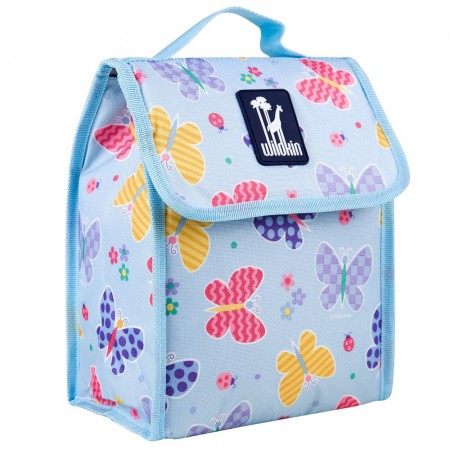 Olive Kids Butterfly Garden Munch 'n Lunch Bag