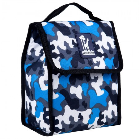 Blue Camo Munch 'n Lunch Bag