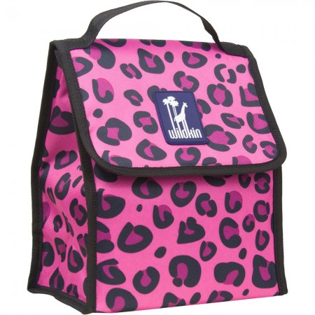 Pink Leopard Munch 'n Lunch Bag