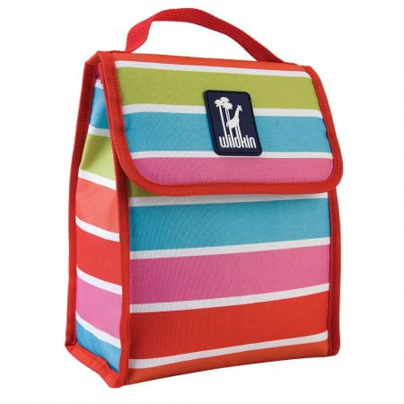 Bright Stripes Munch 'n Lunch Bag