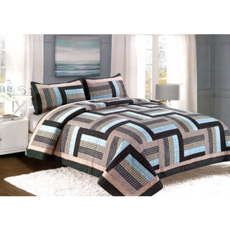 Ridgecrest King Size Quilt Set