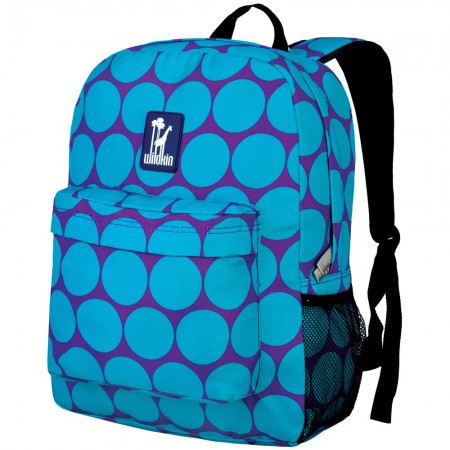 Big Dot Aqua 16 Inch Backpack