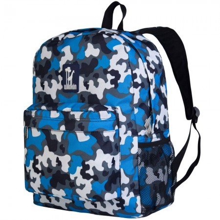Blue Camo 16 Inch Backpack