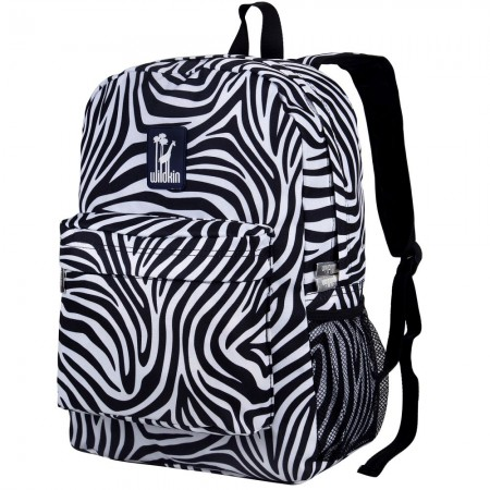 Zebra 16 Inch Backpack