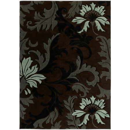 "Orleans Smoke Blue Area Rug (63"" X 90"")"