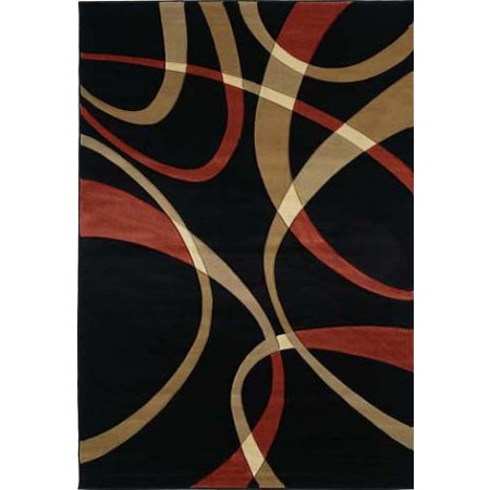 "La Chic Terracotta Area Rug (63"" X 90"")"