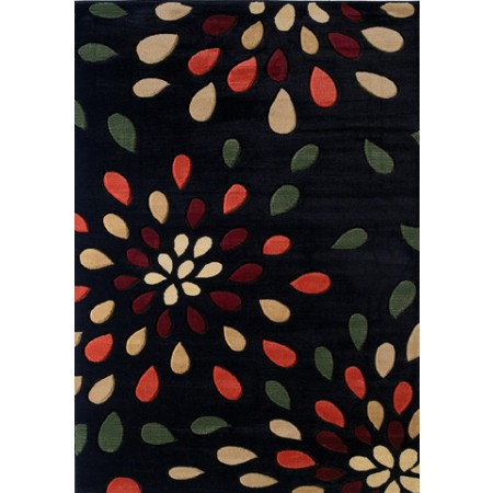 Dazzle Onyx Area Rug - Transitional Style Area Rug